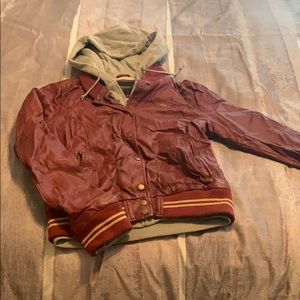 Obey Leather jacket
